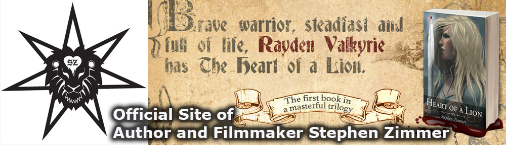 Official Site of Author and Filmmaker Stephen Zimmer